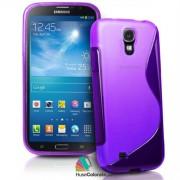 Husa Samsung i9200 Galaxy Mega 6.3 Silicon Gel Tpu S-Line Mov