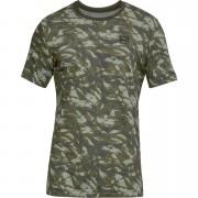 Under Armour Men's AOP Sportstyle T-Shirt - Green - M - Green