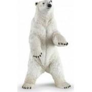 Figurina Papo Urs polar in picioare