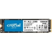 Crucial P1 1 TB Laptop, Desktop Internal Solid State Drive (CT1000P1SSD8)