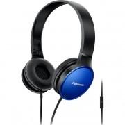 HEADPHONES, Panasonic RP-HF300ME-A, Microphone, Blue