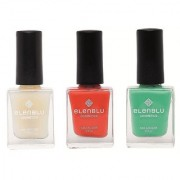 Elenblu White Water Top Top Coats Nail Polish Set of 2 Matte Nail Polish Brickola Roseate Blush 9.9ml Each Bundle Offer