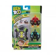 Set 2 figurine si Ceas Omnitrix tip lansator Torta Vie si XLR8, 3 ani+