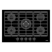 Gorenje Plinska ploča za kuhanje na kaljenom staklu GTW751UB - Crna