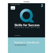 Q: Skills for Success: Level 2: Reading and Writing Teacher's Handbook with Teacher's Access Card, Paperback/Jenny Bixby
