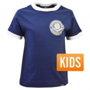 TOFFS Retro TOFFS - Bordeaux Retro Ringer T-Shirt Kids - Navy