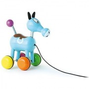 Vilac Push and Pull Baby Toy Roudoudou The Horse