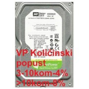 "HDD 3.5"" ** 320GB WD3200AVVS WD AV-GP GREEN 5400RPM 8MB SATA"