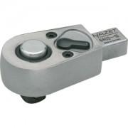 Hazet HAZET Insteek-omschakelratel 6402-1S . Insteekvierkant 9 x 12 mm . Vierkant massief 10 mm (3/8 inch)