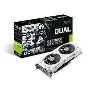 Grafička kartica GeForce GTX1070 Asus 8GB DDR5, 2xHDMI/DVI-D/2xDP/256bit/DUAL-GTX1070-O8G