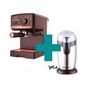 Combo Cafetera Express Yelmo CE 5107 + Molinillo De Cafe Ultracomb Mo-8100