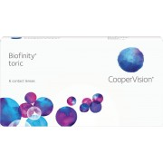 Biofinity toric - 6 lenzen