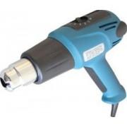 Hőlégfúvó + 2db fúvóka - 230V, 50Hz, 2000W, 100-600°C, 800g HLF-01 - Tracon