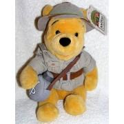 "Disney Animal Kingdom 10"" Plush Safari Winnie the Pooh From Walt Disney World"