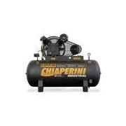 Compressor De Ar Alta Pressão Chiaperini Cj 20 5Hp 175 Psi Apv 200 Litros Trifásico 220/380V