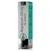 InnoPharm Magnézium + B6-vitamin pezsgőtabletta, 20 db