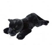 Geen Panters speelgoed artikelen panter knuffelbeest zwart 60 cm