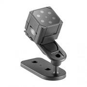 CÁMARA Camara DE Video Mini Sports Video QMS SQ19 HD 1080P 30fps Ultra-Mini DV Pocket Grabadora de Video Digital, Soporte de detección de Movimiento y visión Nocturna por Infrarrojos (Negro)