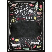 Puzzle Clementoni - Black Board Puzzle - Think Outside the Box, 1.000 piese (62435)