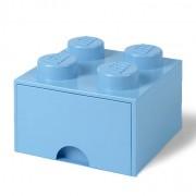 Lego Ladrillo de almacenamiento LEGO (4 espigas) - 1 cajón - Azul real