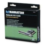 Tarjeta controladora PCI con 1 puerto paralelo Manhattan 158220