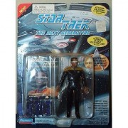 Star Trek the Next Generation Lt. Commander Geordi Laforge in Movie Uniform 4.5 Action Figure by Playmates