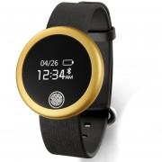 Relojes Smartwatch, S6 Moda Android IOS Ritmo Cardíaco Fitness Monitor Monitor Impermeable Inteligente (Oro)