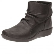 Clarks Women's Sillian Chell Black Boots - 3.5 UK/India (36 EU)