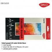 Culori guasa 10 culori Artist Daco