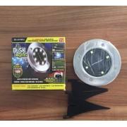 LED-es süllyeszthető, lépésálló szolár lámpa 8 Led-es