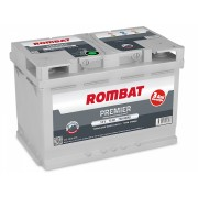 Baterie auto Rombat PREMIER,75 Ah,750 A,L3