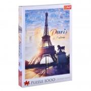 Puzzle Turnul Eiffel Trefl, 1000 piese, 48 x 68 cm