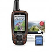 Garmin GPSMap 64s + TOPO Deutschland V8 Pro Vanjska navigacija Hodanje, Bicikliranje Njemačka, Austrija, Švicarska GLONASS, GPS,