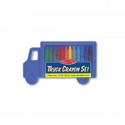Set 12 creioane Truck