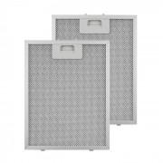 Klarstein Маслен филтър, резервен филтър, алуминий, 24,4 x 31,3 см, 2 броя, аксесоари (CGCH2-Al-filter)