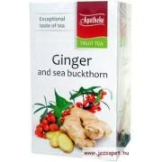 Apotheke - Gyömbér és Homoktövis Tea, 20 filter