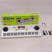 61 teclas Piano teclado electrónico juguete niños - BF-630D-1 Plata