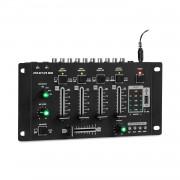 Auna Pro Amnesia, 4-канален миксажен пулт, BT, USB, MP3, 2 x Micro, черен (DJMM2-DJ314)