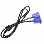 Top KwaliteitBlauw 3 M 15 PIN VGA HDB15 SUPER VGA M/M Man Mannelijke Connector Kabel Verlengkabel Monitor VOOR PC TV WZATCO