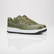 Nike Air Force 1 Aop Medium Olive/Khaki/Velvet Brown/White