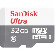 Memoria Micro SDHC 32GB Sandisk Sdsqunb-032G-Gn3Ma 48MB S Clase 10