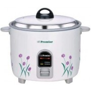 Premier 22 ES Electric Rice Cooker(2.2 L, White)