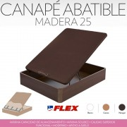 FLEX CANAPE ARCON MADERA 25mm 3D