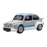 Fiat Abarth 1000 Tcr Matt Grey With Blue Stripes 1/18 By Auto Art 72642