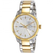 Timex Analog Silver Dial Mens Watch-TWEG15102