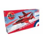 KIT CONSTRUCTIE AVION RAF RED ARROWS HAWK - AIRFIX (AF02005C)