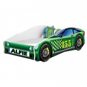 Pat Tineret MyKids Race Car 04 Green160x80