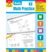 Daily Math Practice, Grade 3, Paperback/Evan-Moor Educational Publishers