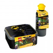 LEGO Batman Lunch Set (Drinking Bottle and Lunch Box)