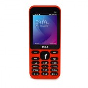 Trio T6 Star New Red (2.4 Inch 1000 mAh Battery BIS Certified Made in India Wireless FM)